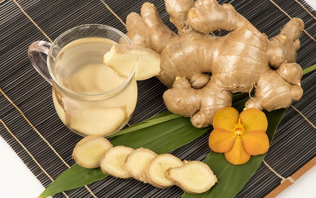 Ginger properties خواص زنجبیل