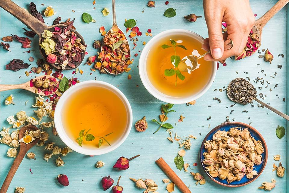 herbal tea importance اهمیت دمنوش گیاهی