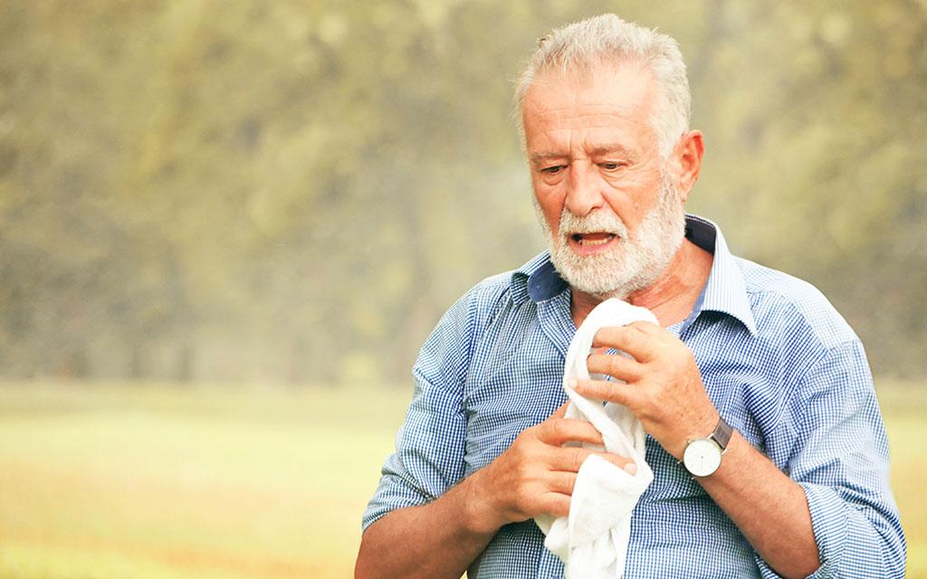 heatstroke-treatment درمان گرمازدگی
